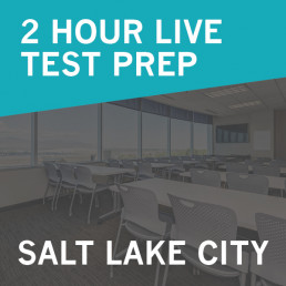 2 Hour Live Real Estate Test Prep Salt lake City, Utah