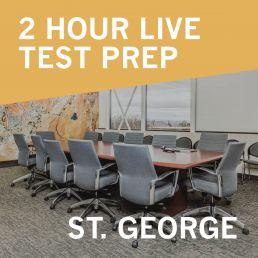 Live Test Prep - St. George