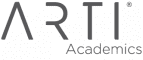 arti academics logo in grey