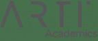 arti academics logo in grey