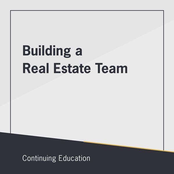 Building a real estate team class
