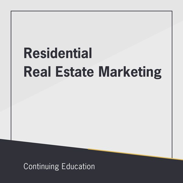 Residential Real Estate Marketing