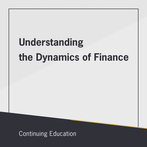Free real estate class on Understanding the Dynamics of Finance