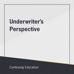 Real estate course on the Underwriter's Perspective