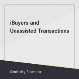 iBuyers and Unassisted Transactions