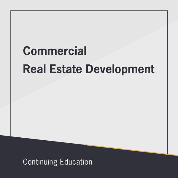 Commercial real estate development class