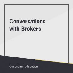 Conversations with Brokers