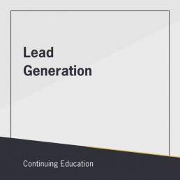 Lead Generation class