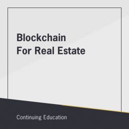 Blockchain for Real Estate class