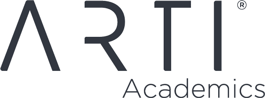 Dark ARTI logo with trademark