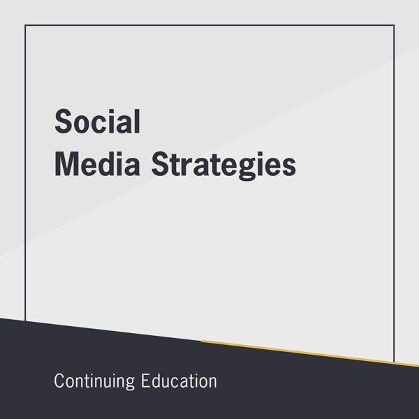Social Media Strategies class